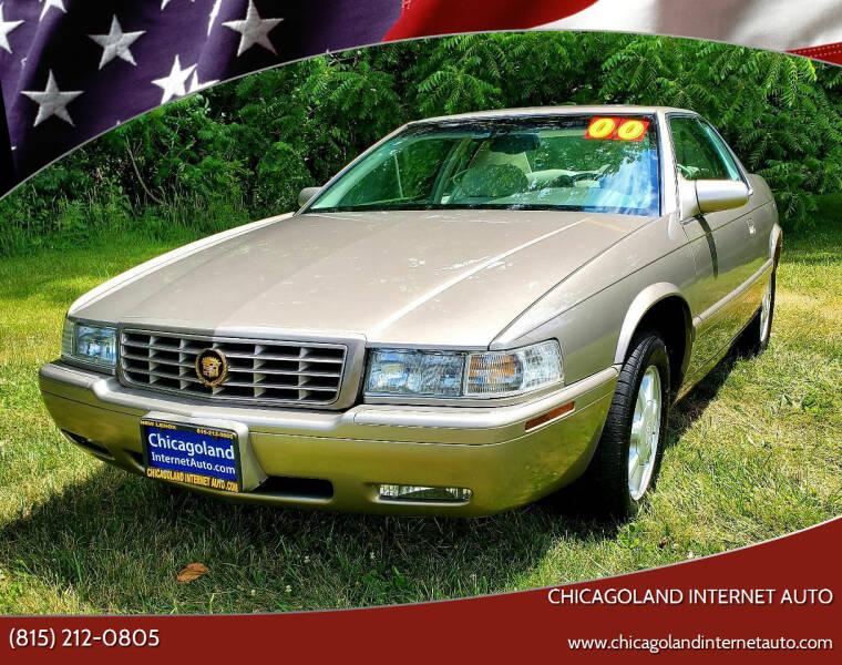 2000 Cadillac Eldorado for sale at Chicagoland Internet Auto - 410 N Vine St New Lenox IL, 60451 in New Lenox IL