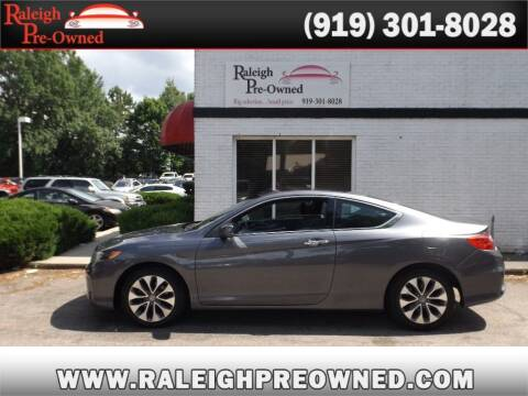 2013 Honda Accord for sale at Raleigh Pre-Owned in Raleigh NC