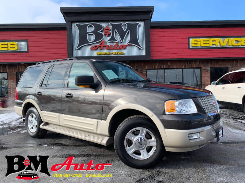2005 Ford Expedition for sale at B & M Auto Sales Inc. in Oak Forest IL