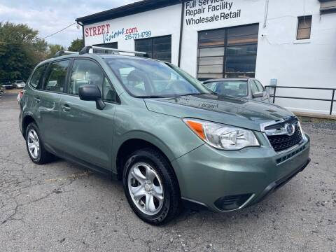 2014 Subaru Forester for sale at Street Visions in Telford PA