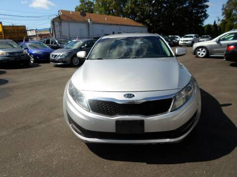 2012 Kia Optima for sale at QUALITY AUTO SALES OF NEW YORK in Medford NY