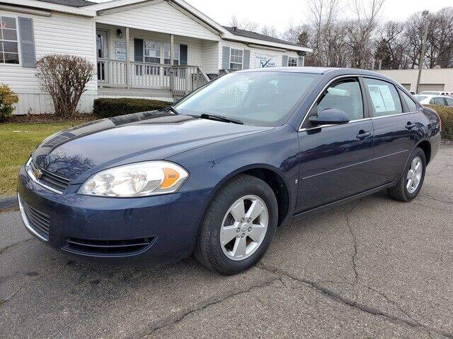 2008 Chevrolet Impala for sale at Paramount Motors in Taylor MI