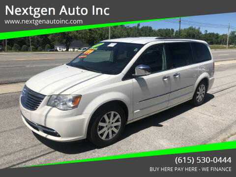 2012 Chrysler Town and Country for sale at Nextgen Auto Inc in Smithville TN