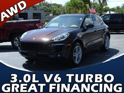 2015 Porsche Macan for sale at Palm Beach Auto Wholesale in Lake Park FL