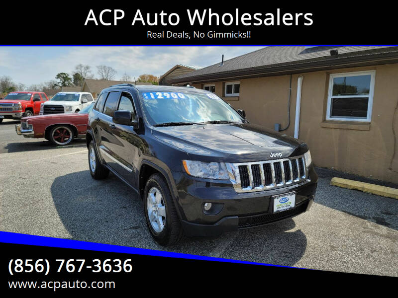 2012 Jeep Grand Cherokee for sale at ACP Auto Wholesalers in Berlin NJ