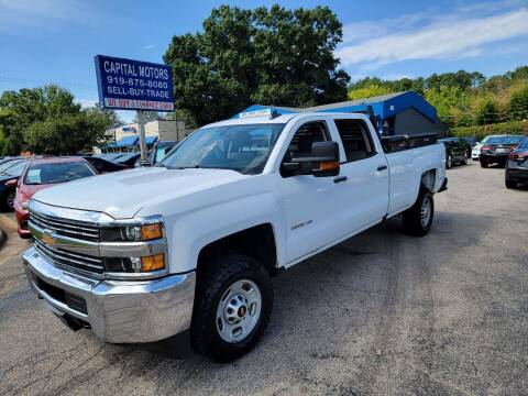 2017 Chevrolet Silverado 2500HD for sale at Capital Motors in Raleigh NC