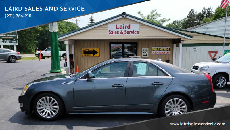 2010 Cadillac CTS for sale at LAIRD SALES AND SERVICE in Muskegon MI