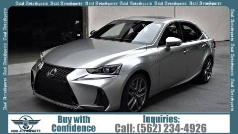 2017 Lexus IS 200t for sale at ASAL AUTOSPORTS in Corona CA
