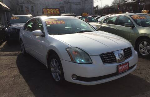 2005 Nissan Maxima for sale at Metro Auto Exchange 2 in Linden NJ