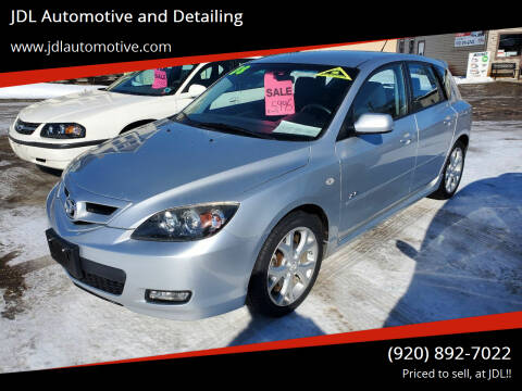 2008 Mazda MAZDA3 for sale at JDL Automotive and Detailing in Plymouth WI