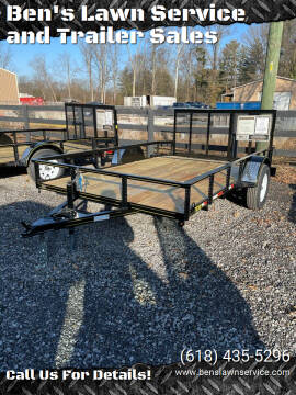 2021 Trailer Express 12FtUtility for sale at Ben's Lawn Service and Trailer Sales in Benton IL