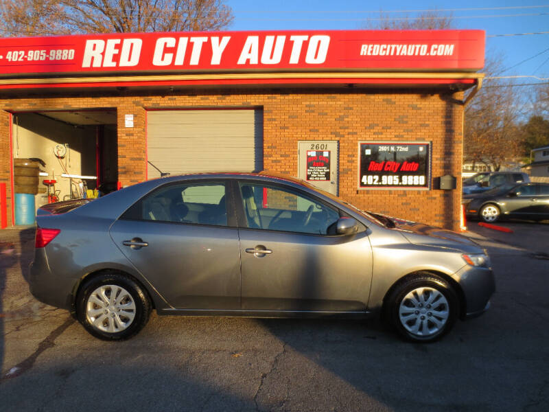 2012 Kia Forte for sale at Red City  Auto in Omaha NE