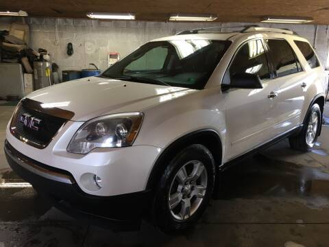 2012 GMC Acadia for sale at Best For Less Auto Sales & Service LLC in Dunbar PA