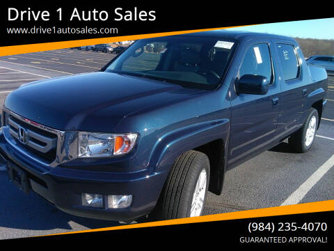 2011 Honda Ridgeline for sale at Drive 1 Auto Sales in Wake Forest NC