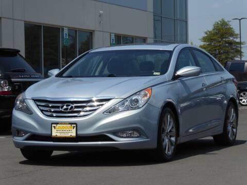 2012 Hyundai Sonata for sale at Loudoun Used Cars - LOUDOUN MOTOR CARS in Chantilly VA