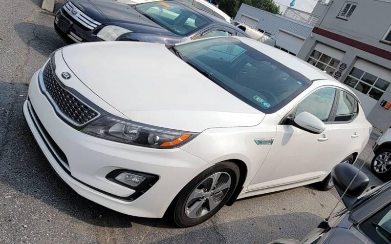 2015 Kia Optima Hybrid for sale at Adams Service Center and Sales in Lititz PA