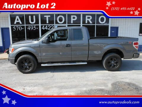 2014 Ford F-150 for sale at Autopro Lot 2 in Sunbury PA