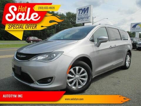 2018 Chrysler Pacifica for sale at AUTOTYM INC in Fredericksburg VA