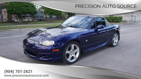 2003 Mazda MX-5 Miata for sale at Precision Auto Source in Jacksonville FL