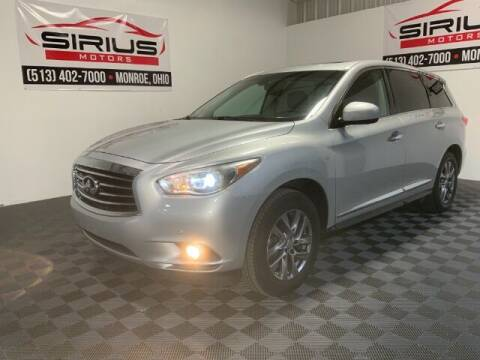 2014 Infiniti QX60 for sale at SIRIUS MOTORS INC in Monroe OH