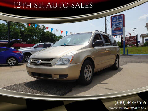 2008 Kia Sedona for sale at 12th St. Auto Sales in Canton OH