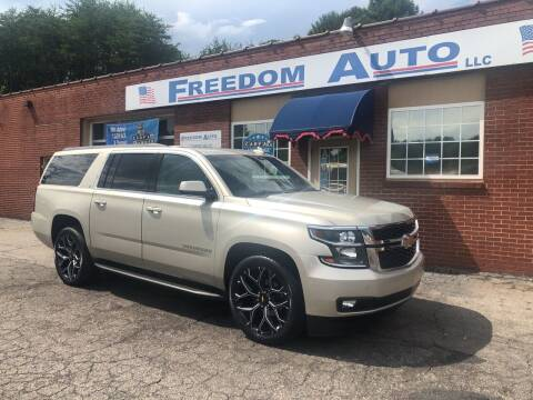 2016 Chevrolet Suburban for sale at FREEDOM AUTO LLC in Wilkesboro NC