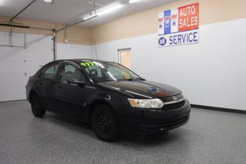 2004 Saturn Ion for sale at 777 Auto Sales and Service in Tacoma WA