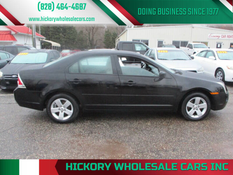 2007 Ford Fusion for sale at Hickory Wholesale Cars Inc in Newton NC
