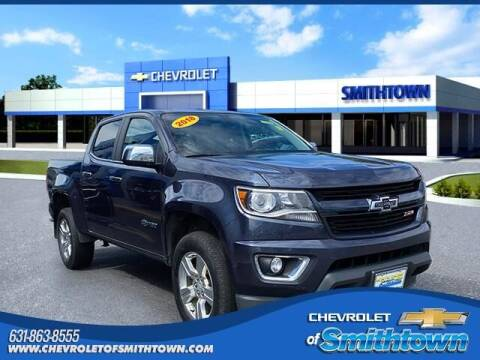 2018 Chevrolet Colorado for sale at CHEVROLET OF SMITHTOWN in Saint James NY