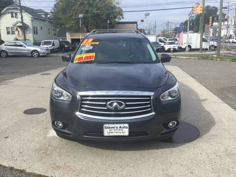 2013 Infiniti JX35 for sale at Steves Auto Sales in Little Ferry NJ
