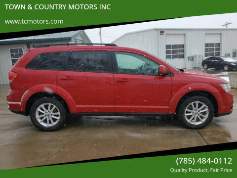 2017 Dodge Journey for sale at TOWN & COUNTRY MOTORS INC in Meriden KS