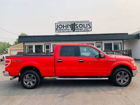 2014 Ford F-150 for sale at John Solis Automotive Village in Idaho Falls ID
