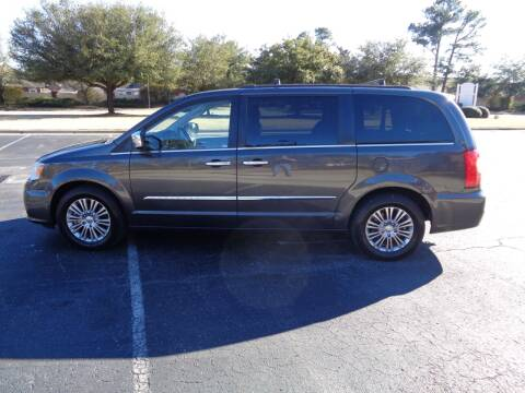 2015 Chrysler Town and Country for sale at BALKCUM AUTO INC in Wilmington NC