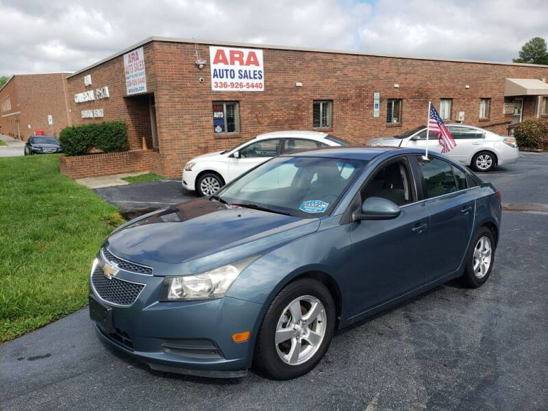 2012 Chevrolet Cruze for sale at ARA Auto Sales in Winston-Salem NC