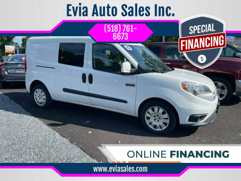 2015 RAM ProMaster City Cargo for sale at Evia Auto Sales Inc. in Glens Falls NY