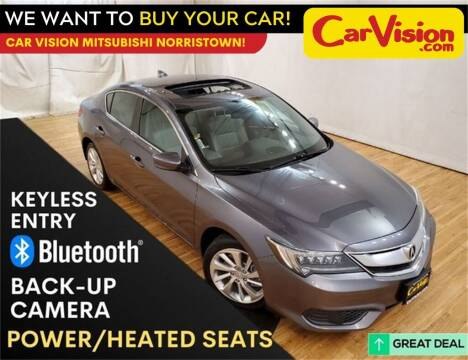 2017 Acura ILX for sale at Car Vision Mitsubishi Norristown - Car Vision Philly Used Car SuperStore in Philadelphia PA