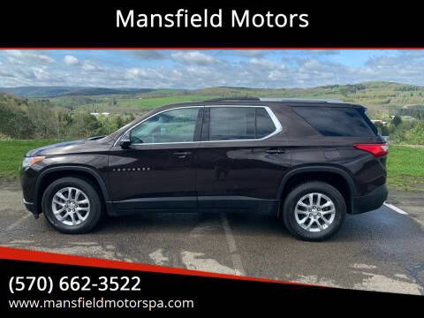 2018 Chevrolet Traverse for sale at Mansfield Motors in Mansfield PA