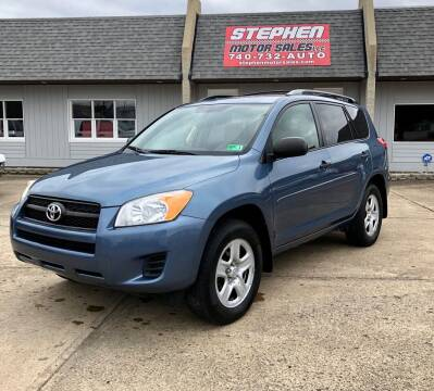 2012 Toyota RAV4 for sale at Stephen Motor Sales LLC in Caldwell OH