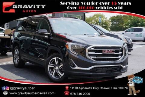 2019 GMC Terrain for sale at Gravity Autos Roswell in Roswell GA