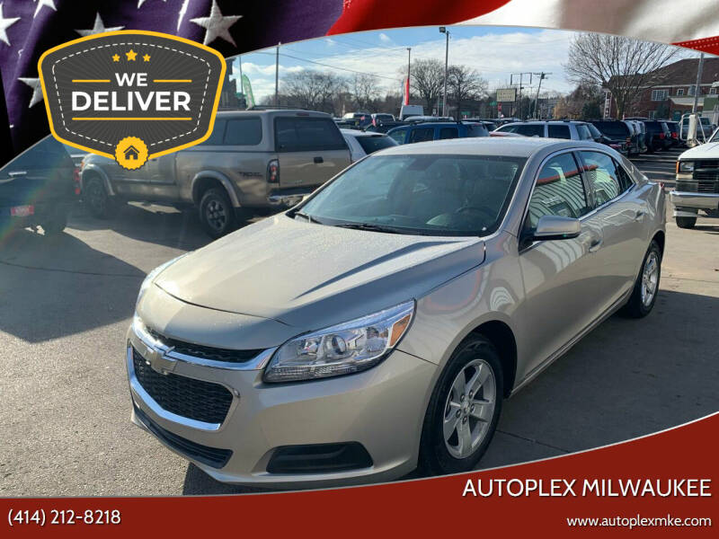 2016 Chevrolet Malibu Limited for sale at Autoplex Milwaukee in Milwaukee WI