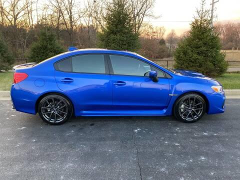 2019 Subaru WRX for sale at Encore Auto in Niles MI