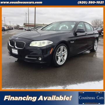 2014 BMW 5 Series for sale at CousineauCars.com in Appleton WI
