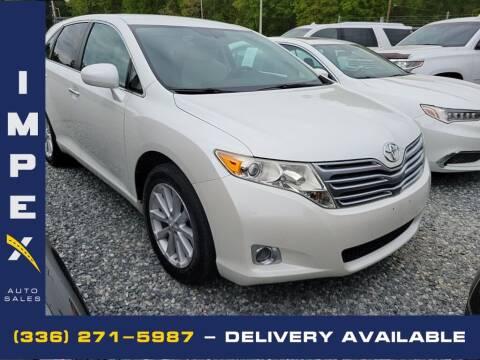 2009 Toyota Venza for sale at Impex Auto Sales in Greensboro NC