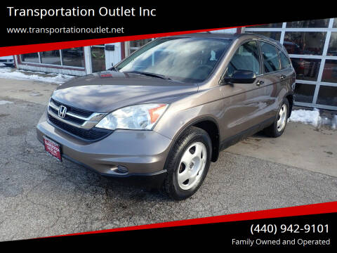 2010 Honda CR-V for sale at Transportation Outlet Inc in Eastlake OH