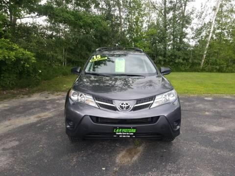 2015 Toyota RAV4 for sale at L & R Motors in Greene ME