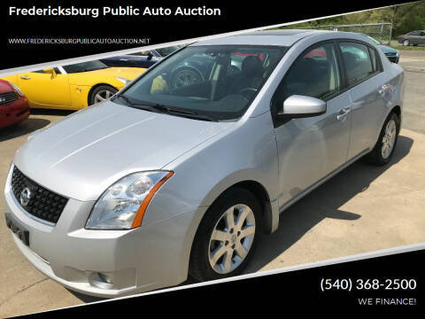 2008 Nissan Sentra for sale at FPAA in Fredericksburg VA