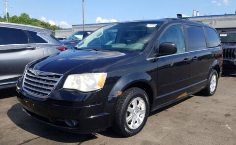 2008 Chrysler Town and Country for sale at Angelo's Auto Sales in Lowellville OH
