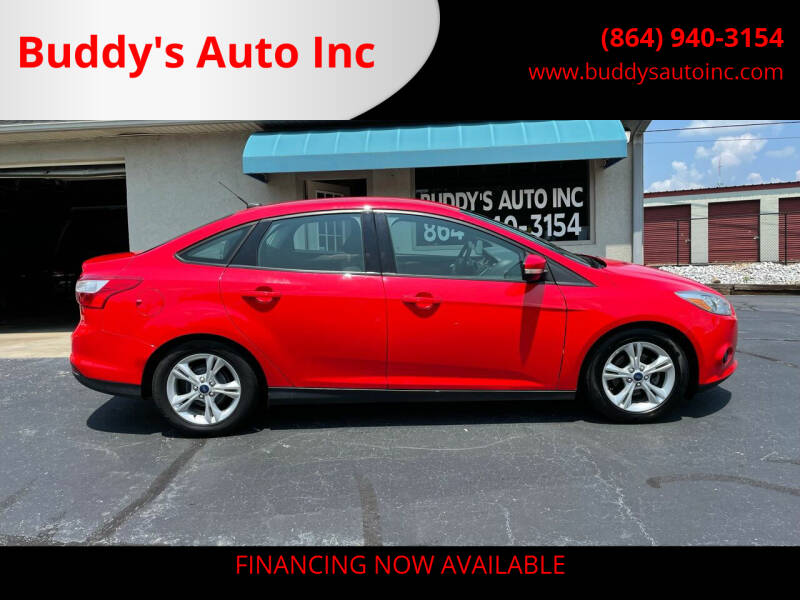 2014 Ford Focus for sale at Buddy's Auto Inc in Pendleton, SC