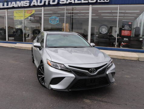 2018 Toyota Camry for sale at Williams Auto Sales, LLC in Cookeville TN