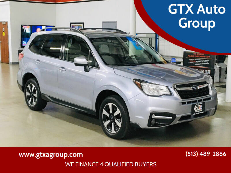 2017 Subaru Forester for sale at GTX Auto Group in West Chester OH